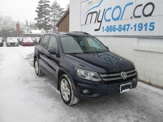 Used 2016 Volkswagen Tiguan COMFORTLINE for sale in North Bay, ON
