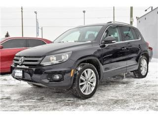 Used 2014 Volkswagen Tiguan Highline NAVIGATION, PANORAMIC SUNNROOF, LEATHER ! for sale in Concord, ON