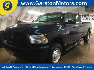 Used 2012 Dodge Ram 2500 ST*CREWCAB*LONG BOX*4 X 4*HEMI*TOW/HAUL MODE*CARGO LIGHT*AM/FM/CD/AUX*SIDE STEPS*BACK RACK*BOX LINER*HITCH RECEIVER w/PIN CONNECTOR*FRONT TOW HOOKS* for sale in Cambridge, ON