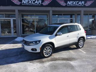 Used 2014 Volkswagen Tiguan 2.0TSI COMFORTLINE AUT0 AWD LEATHER PANO/ROOF 83K for sale in North York, ON