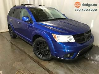Used 2015 Dodge Journey R/T AWD / Sunroof / DVD / GPS Navigation / Rear Back Up Camera for sale in Edmonton, AB