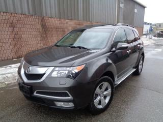 Used 2011 Acura MDX TECH - NAVI - CAMERA - DVD - 7 PASSENGER - 1 OWNER for sale in Etobicoke, ON