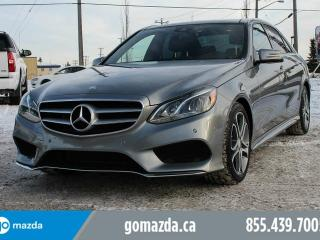 Used 2014 Mercedes-Benz E-Class Base for sale in Edmonton, AB