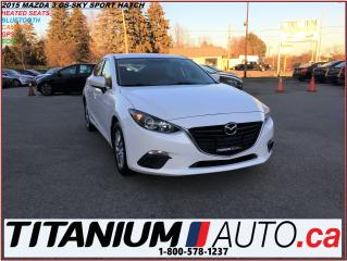 Used 2015 Mazda MAZDA3 GS Sport Hatch+GPS+Camera+Heated Seats+Bluetooth++ for sale in London, ON