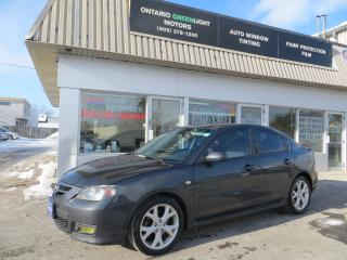 Used 2007 Mazda MAZDA3 GT,SUNROOF,ALLOYS,LOADED for sale in Mississauga, ON