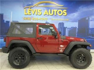 Used 2010 Jeep Wrangler Sport Awd for sale in Levis, QC