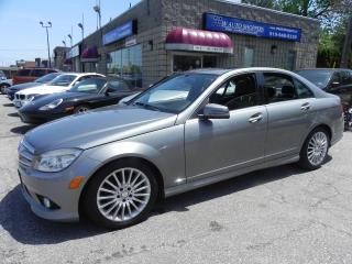 Used 2010 Mercedes-Benz C250 4MATIC * LEATHER * SUNROOF for sale in Windsor, ON
