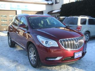 Used 2015 Buick Enclave Leather, AWD for sale in Beaverton, ON