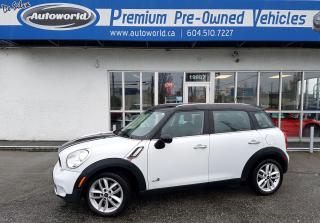 Used 2012 MINI Cooper Countryman S for sale in Langley, BC