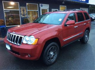 Used 2010 Jeep Grand Cherokee Limited for sale in Parksville, BC