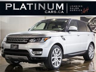 Used 2014 Land Rover Range Rover Sport HSE, SUPERCHARGED, NAVI, CAM, PANO, BLINDSPOT for sale in North York, ON