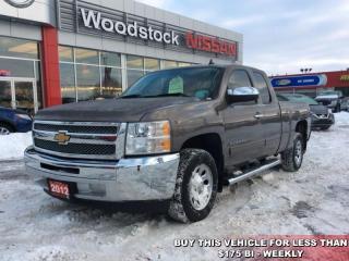 Used 2012 Chevrolet Silverado 1500 LS  - $151.43 B/W for sale in Woodstock, ON