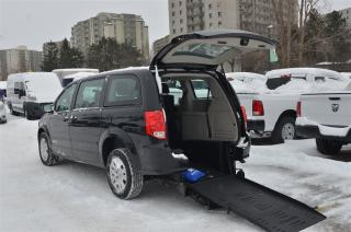 Used 2017 Dodge Grand Caravan Mobility, Rear Entry, Manual Fold Up Ramp for sale in London, ON