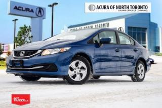 Used 2015 Honda Civic Sedan LX CVT Clean Carproof|Bluetooth|Back Up Cam for sale in Thornhill, ON