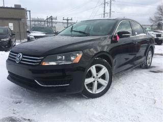 Used 2013 Volkswagen Passat 2.5L Comfortline MOONROOF LEATHERETTE MAGS for sale in St Catharines, ON