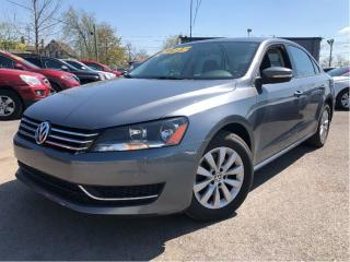Used 2013 Volkswagen Passat 2.5L Trendline HEATED FRONT SEATS for sale in St Catharines, ON