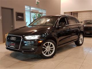 Used 2015 Audi Q3 2.0T TECHNIK-AWD-PANO ROOF-CAMERA-ONLY 94KM for sale in York, ON