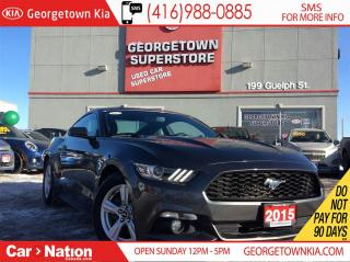 Used 2015 Ford Mustang V6 | BACK UP CAM | ALLOYS | FOGS | PUSH START for sale in Georgetown, ON