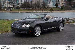 Used 2008 Bentley Continental GTC *Low KM - Bentley Inspected! for sale in Vancouver, BC