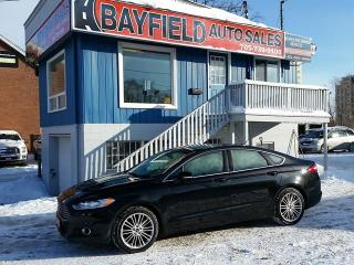 Used 2013 Ford Fusion SE **2.0L Ecoboost/Leather/Remote Start** for sale in Barrie, ON