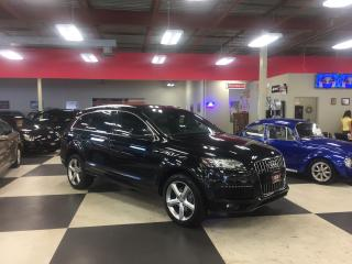 Used 2014 Audi Q7 3.0T S-LINE 7 PASSENGERS NAVI PUSH START PANO/ROOF for sale in North York, ON