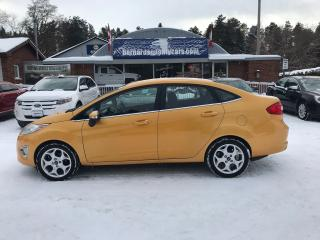 Used 2011 Ford Fiesta SEL for sale in Flesherton, ON