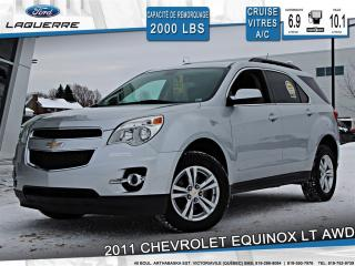 Used 2011 Chevrolet Equinox Lt Awd Bluetooth for sale in Victoriaville, QC