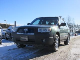 Used 2007 Subaru Forester X 2.5 AWD/ ACCIDENT FREE for sale in Newmarket, ON
