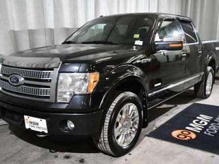 Used 2012 Ford F-150 Platinum 4x4 SuperCrew Cab 5.5 ft. box 145 in. WB for sale in Red Deer, AB