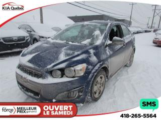Used 2012 Chevrolet Sonic LT for sale in Quebec, QC