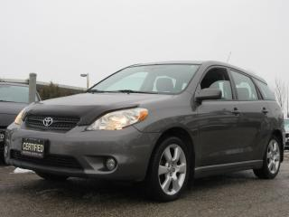 Used 2005 Toyota Matrix XR / LOCAL CAR / ACCIDENT FREE for sale in Newmarket, ON
