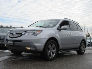 Used 2007 Acura MDX ELITE SH AWD / TECH / NAVI / ACCIDENT FREE for sale in Newmarket, ON