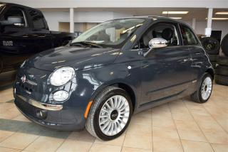 Used 2017 Fiat 500 Lounge for sale in Sherbrooke, QC