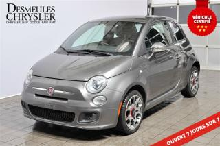 Used 2012 Fiat 500 Sport for sale in Laval, QC
