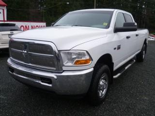 Used 2011 Dodge Ram 2500 SLT for sale in Parksville, BC