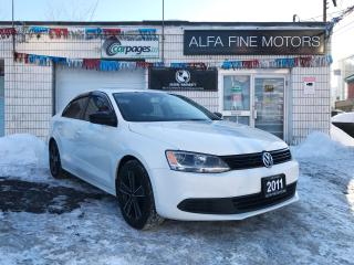 Used 2011 Volkswagen Jetta AUTO/BLUETOOTH/BACKUP CAMERA ((CERTIFIED)) for sale in Hamilton, ON
