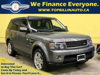 Used 2010 Land Rover Range Rover Sport HSE, Navigation, Backup Cam, 98K km for sale in Concord, ON