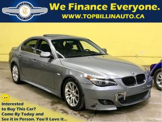 Used 2004 BMW 530 i Leather, Sunroof, 2 Years Warranty for sale in Concord, ON