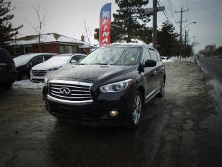 Used 2014 Infiniti QX60 NAVIGATION, LEATHER, SUNROOF. TD/DVD for sale in Scarborough, ON