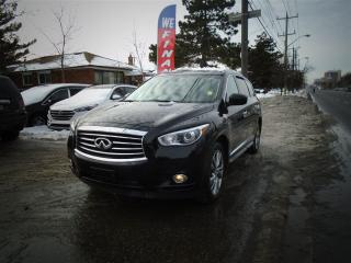 Used 2014 Infiniti QX60 NAVIGATION, LEATHER, SUNROOF. TD/DVD for sale in Toronto, ON