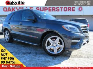 Used 2014 Mercedes-Benz ML-Class ML350 BlueTEC 4MATIC | LEATHER | PANO ROOF | NAVI for sale in Oakville, ON