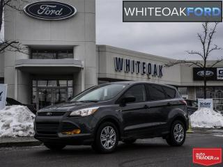 Used 2015 Ford Escape S, FWD, b/u camera, 2.5l engine, one owner for sale in Mississauga, ON