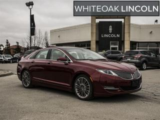 Used 2014 Lincoln MKZ LOADED, 1 OWNER, FACTORY CERTIFIED ext warranty for sale in Mississauga, ON