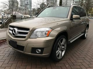 Used 2010 Mercedes-Benz GLK-Class LOCAL,PANORAMIC SUN ROOF,AWD for sale in Vancouver, BC