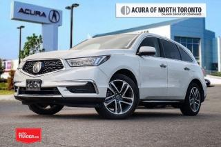 Used 2017 Acura MDX Navi Clean Car Proof Remote Start Blind Spot for sale in Thornhill, ON