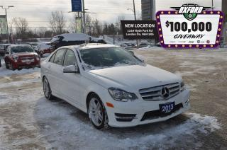 Used 2013 Mercedes-Benz C-Class C 30- AWD, Bluetooth, Heated Seats for sale in London, ON