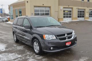 Used 2017 Dodge Grand Caravan Crew - Heated Seats, Back Up Cam, Bluetooth for sale in London, ON