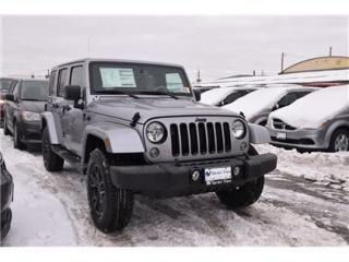 Used 2018 Jeep Wrangler JK Unlimited Sahara ALTITUDE/LEATHER/NAVI/DUAL TOP for sale in Concord, ON