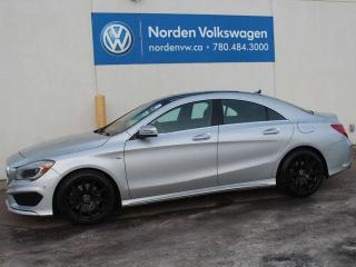 Used 2014 Mercedes-Benz CLA-Class CLA 250 4MATIC - HEATED LEATHER / REAR-VIEW CAMERA / SUNROOF / ALL WHEEL DRIVE for sale in Edmonton, AB