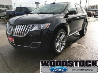 Used 2014 Lincoln MKX Base 22 Cast Aluminum, Adapt Cruise for sale in Woodstock, ON